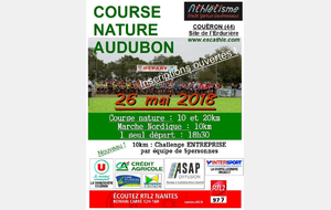 course nature du COUERON - 10km